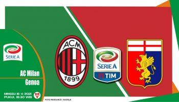 Prediksi Liga Italia: AC Milan vs Genoa - 18 April 2021