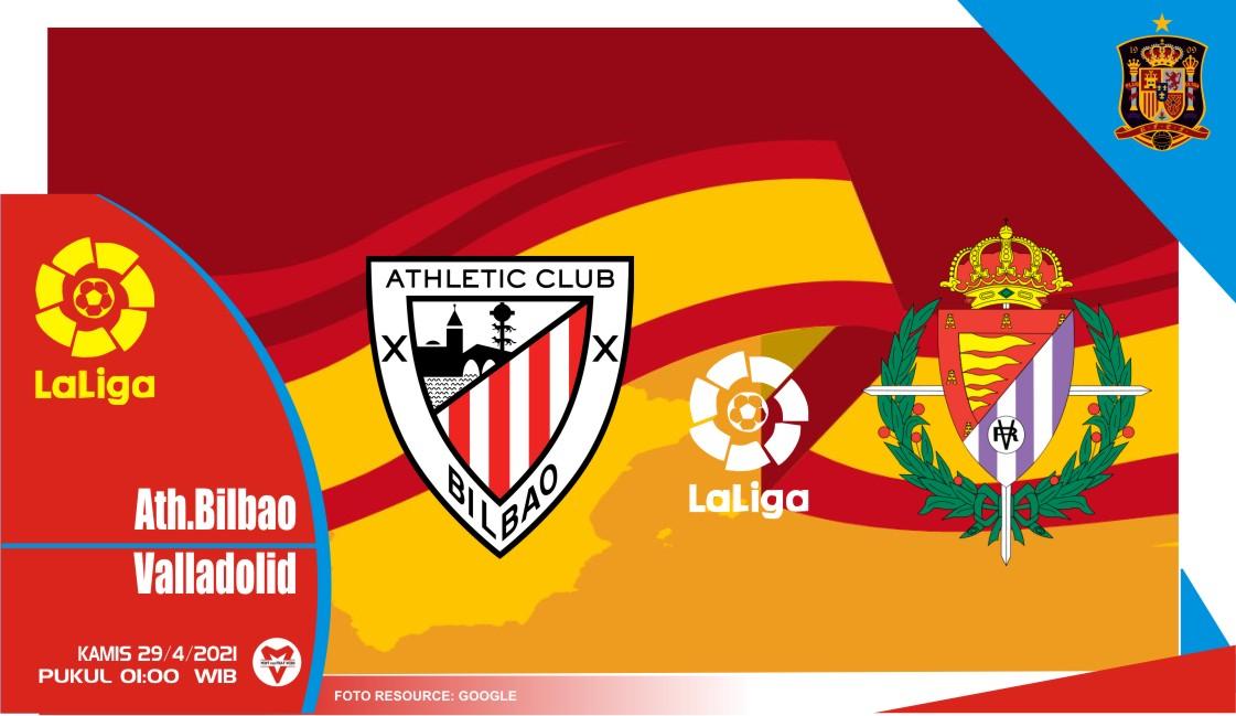 Prediksi Liga Spanyol: Athletic Bilbao vs Real Valladolid - 29 April 2021
