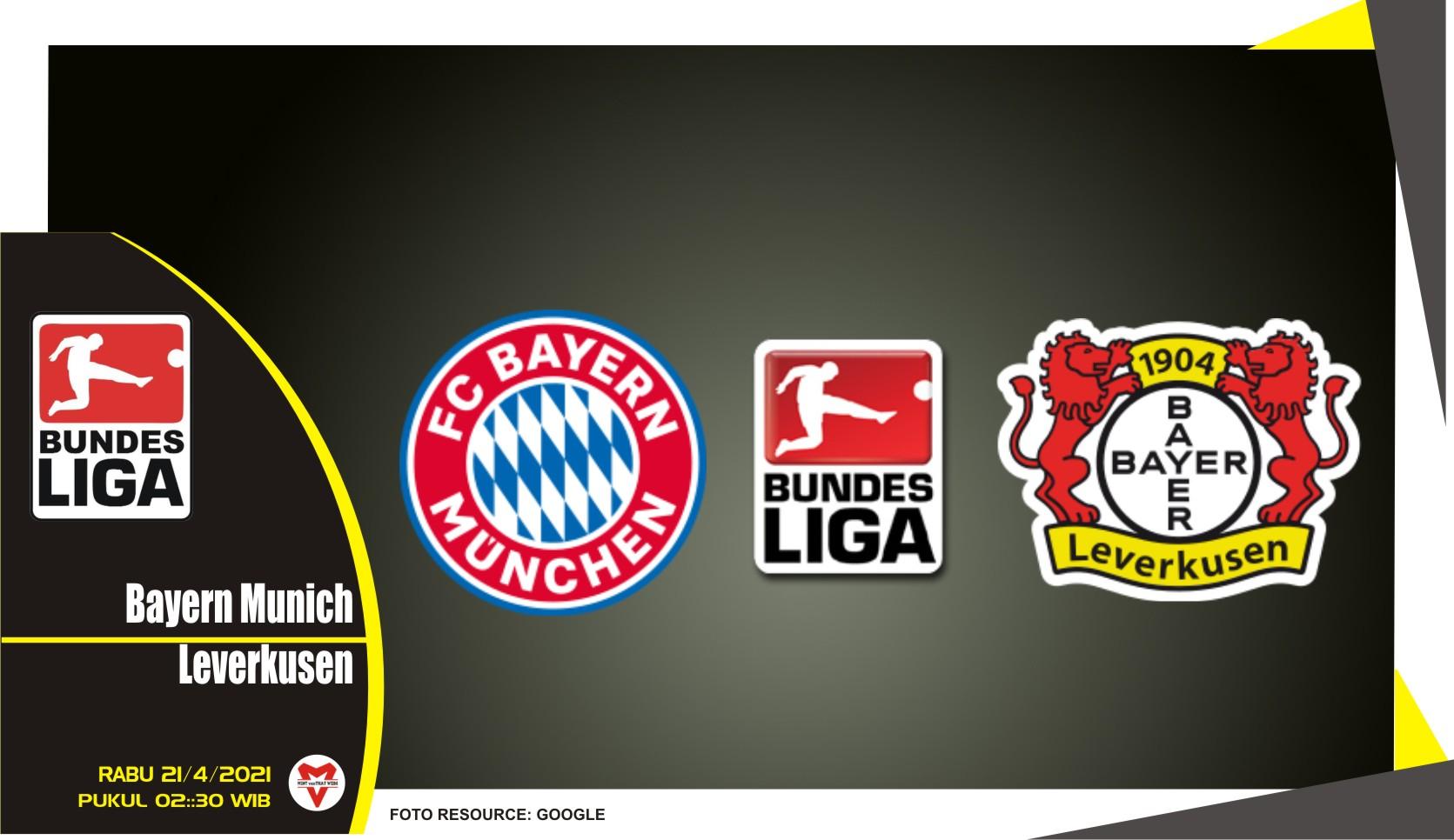 Prediksi Liga Jerman: Bayern Munich vs Leverkusen - 21 April 2021