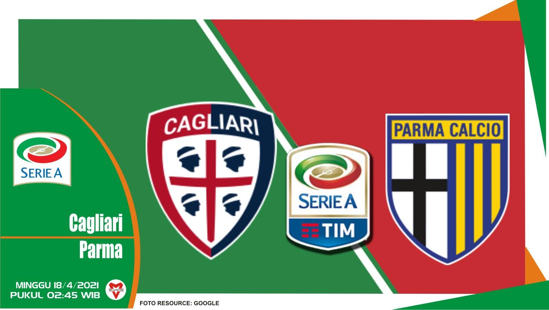 Prediksi Liga Italia: Cagliari vs Parma - 18 April 2021