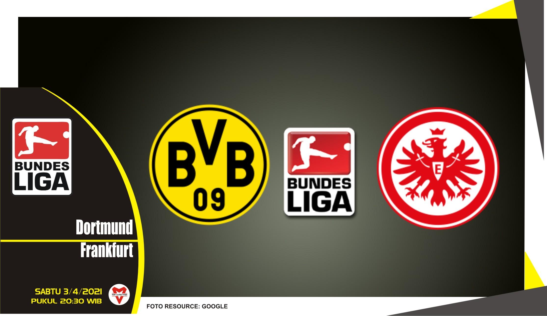 Prediksi Liga Jerman: Dortmund vs Eintracht Frankfurt - 3 April 2021