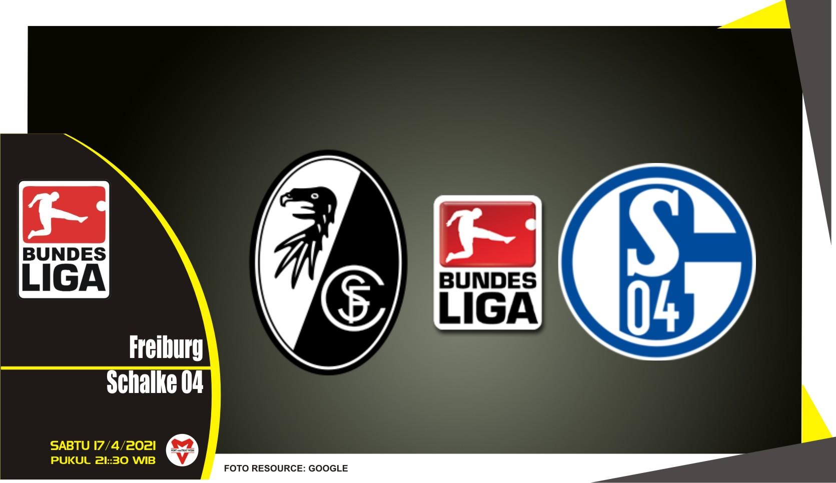 Prediksi Liga Jerman: Freiburg vs Schalke 04 - 17 April 2021