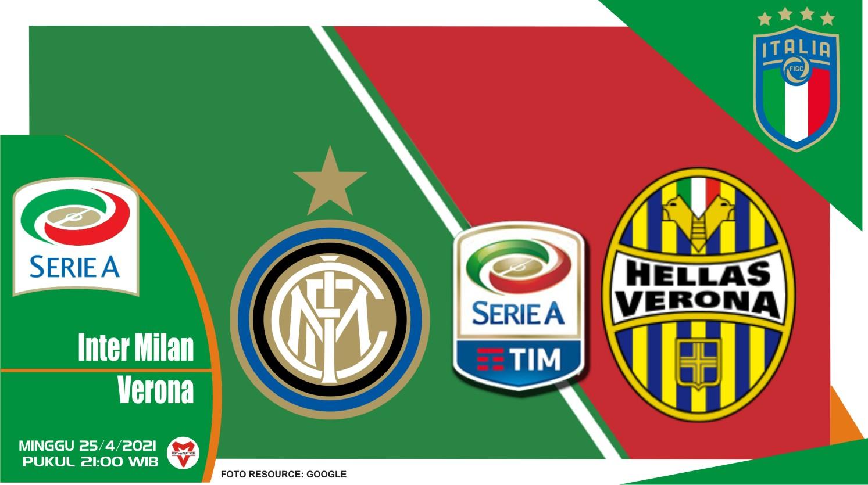 Prediksi Liga Italia: Inter Milan vs Hellas Verona - 25 April 2021