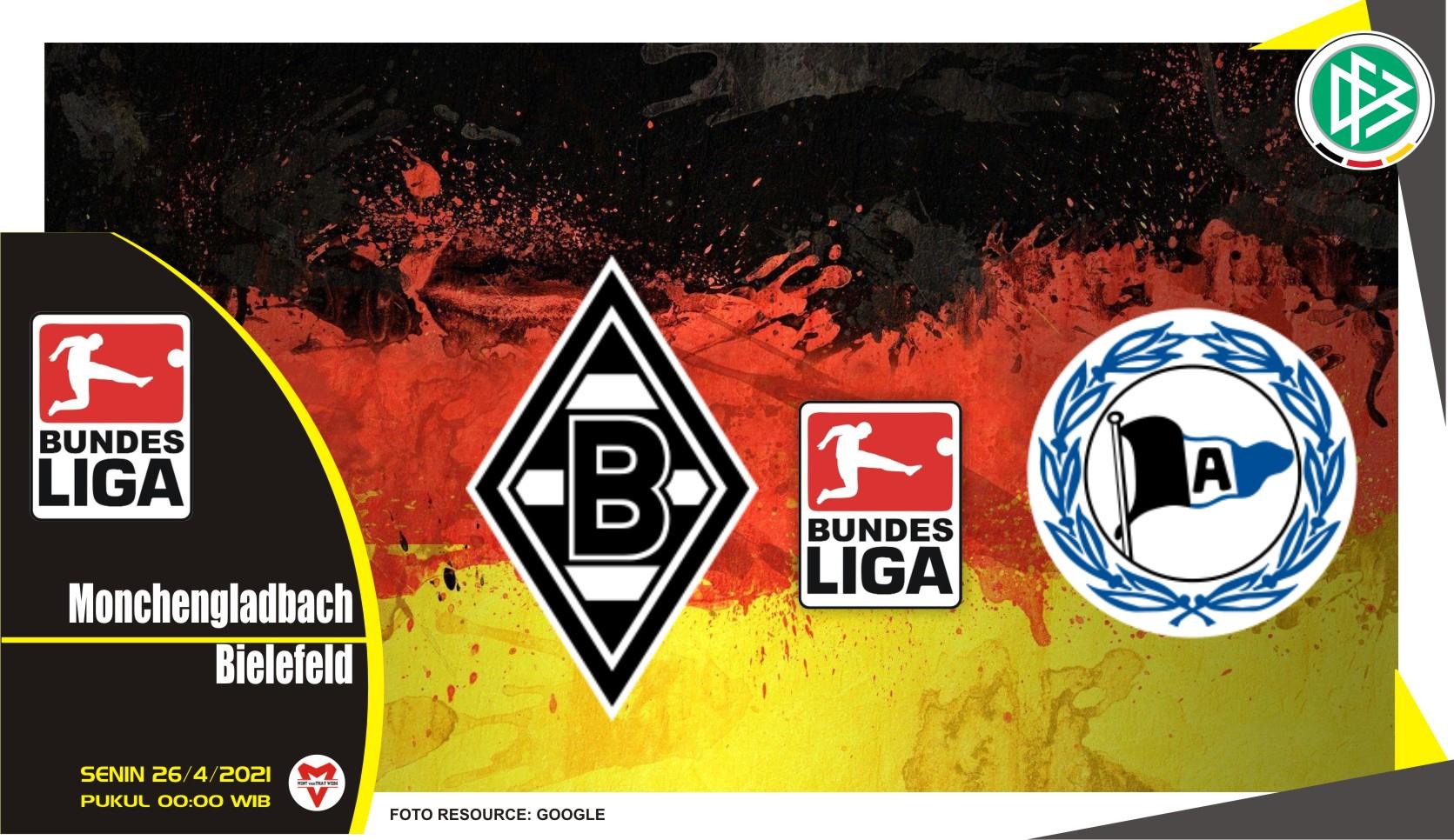 Prediksi Liga Jerman: Monchengladbach vs Arminia Bielefeld - 26 April 2021