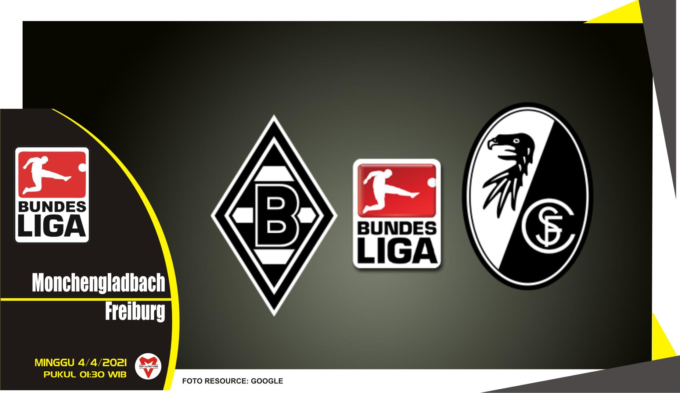 Prediksi Liga Jerman: Monchengladbach vs Freiburg - 4 April 2021