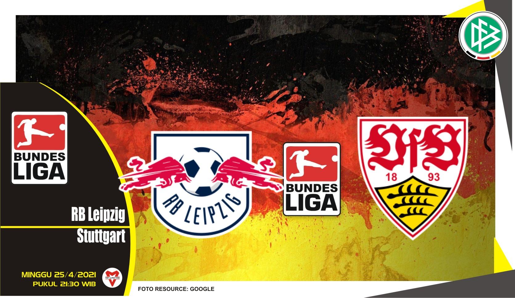 Prediksi Liga Jerman: RB Leipzig vs Stuttgart - 25 April 2021