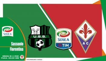 Prediksi Liga Italia: Sassuolo vs Fiorentina - 18 April 2021