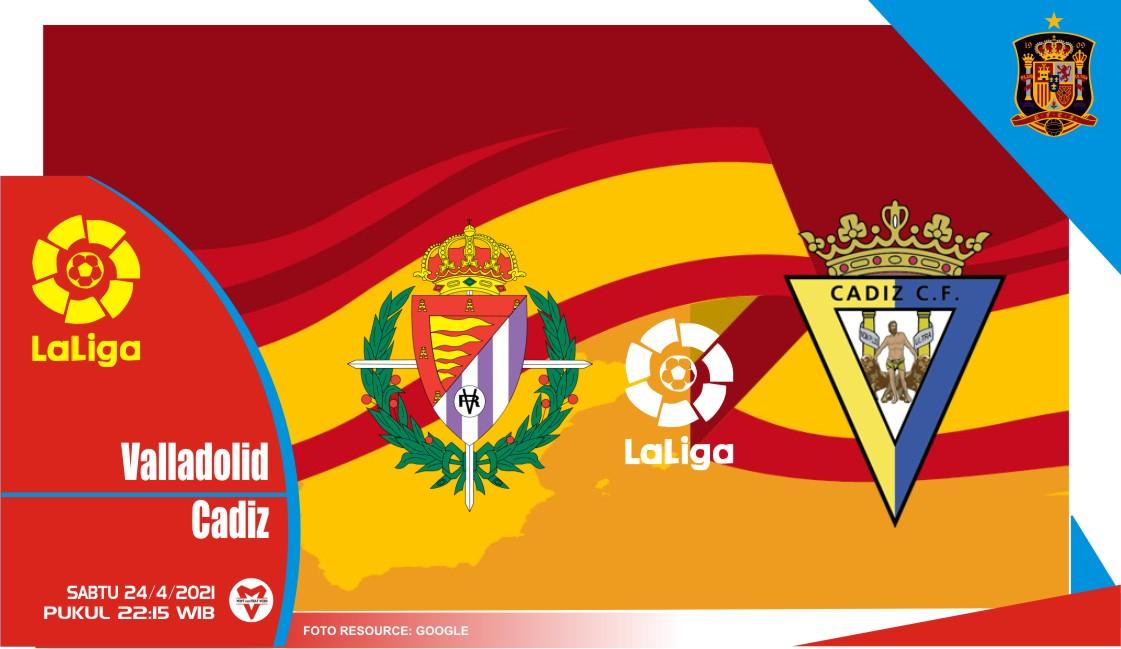 Prediksi Liga Spanyol: Real Valladolid vs Cadiz - 24 April 2021