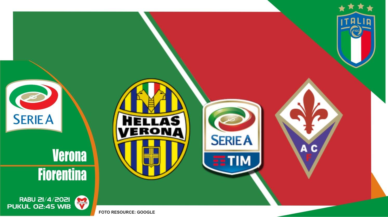 Prediksi Liga Italia: Hellas Verona vs Fiorentina - 21 April 2021