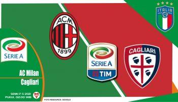 AC Milan vs Cagliari, Prediksi Liga Italia 17 Mei 2021
