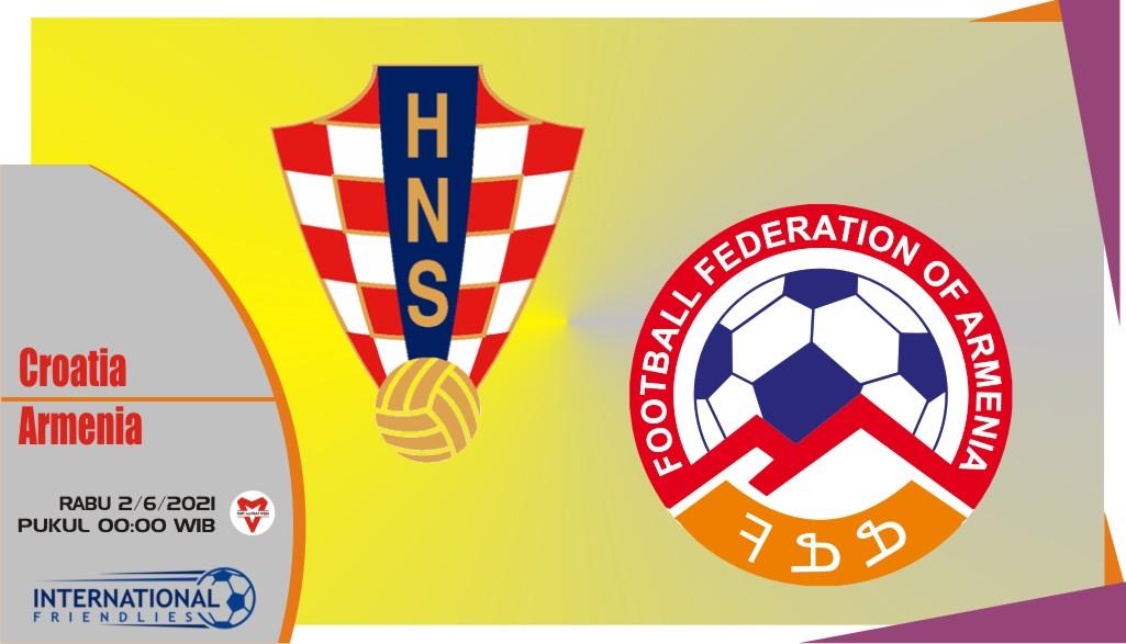 Kroasia vs Armenia, Prediksi Laga Persahabatan 2 Juni 2021