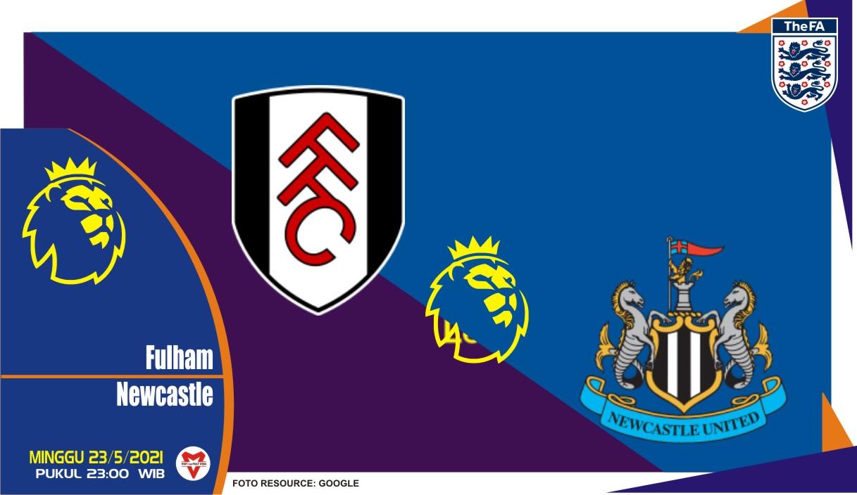 Fulham vs Newcastle United, Prediksi Liga Inggris 23 Mei 2021