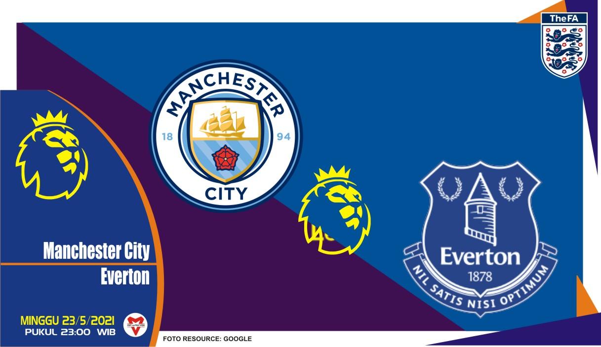 Manchester City vs Everton, Prediksi Liga Inggris 23 Mei 2021