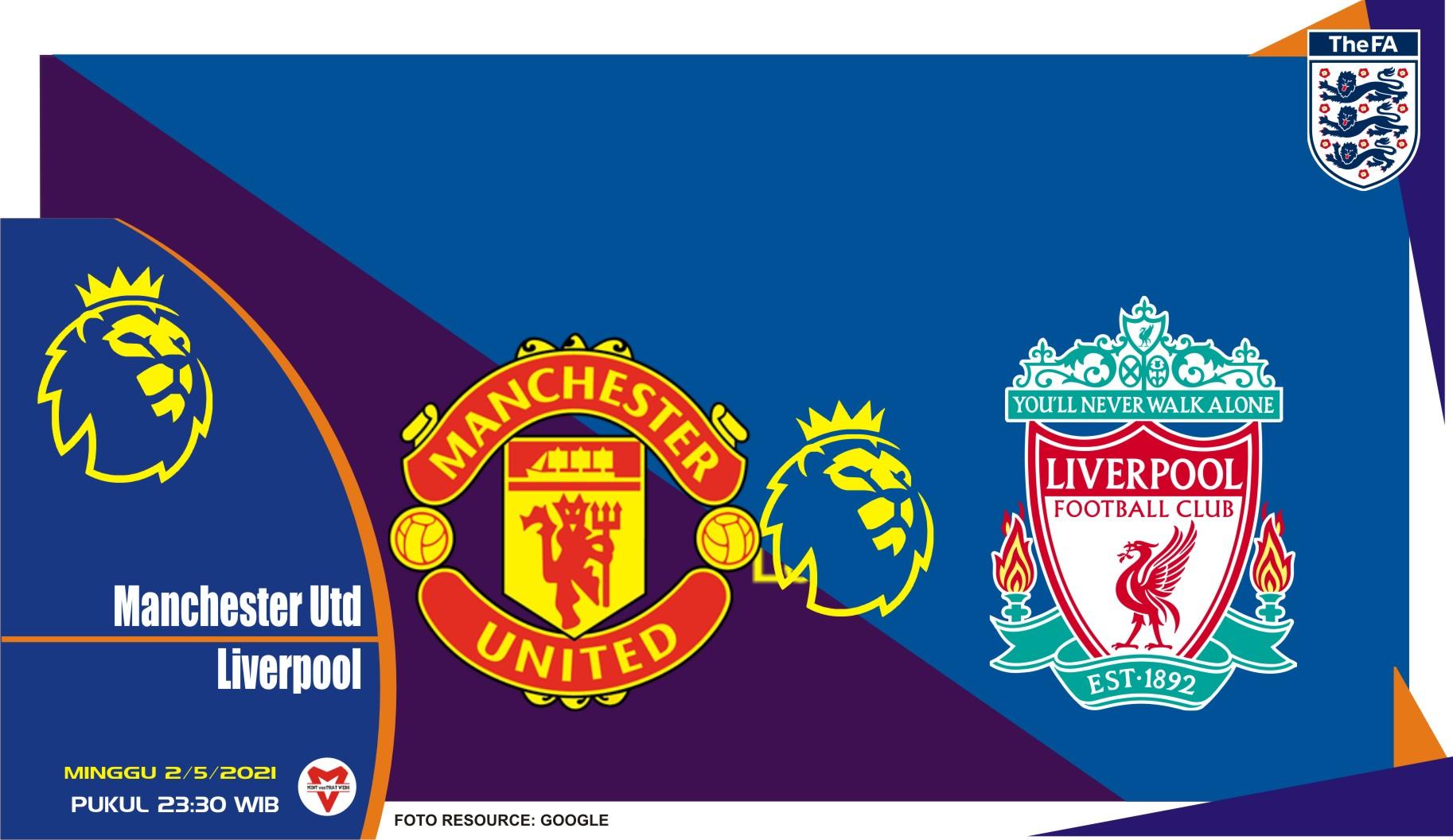 Prediksi Liga Inggris: Manchester United vs Liverpool - 2 Mei 2021
