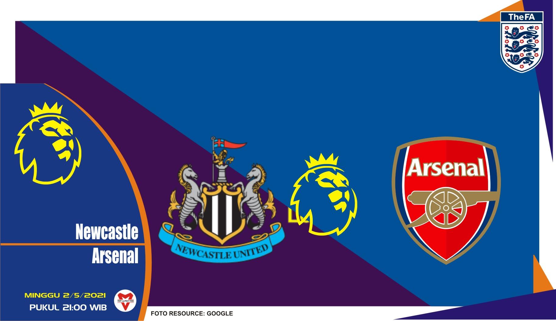 Prediksi Liga Inggris: Newcastle United vs Arsenal - 2 Mei 2021