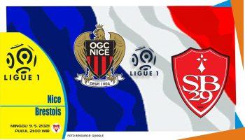 Prediksi Liga Prancis: Nice vs Brest - 9 Mei 2021