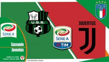 Prediksi Liga Italia: Sassuolo vs Juventus - 13 Mei 2021