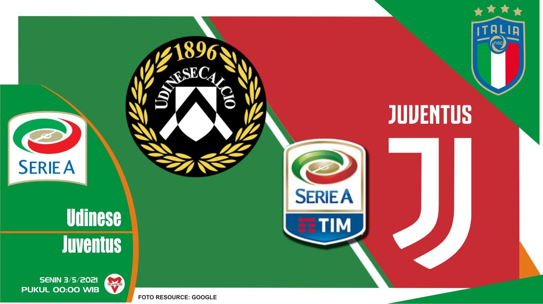 Prediksi Liga Italia: Udinese vs Juventus - 3 Mei 2021