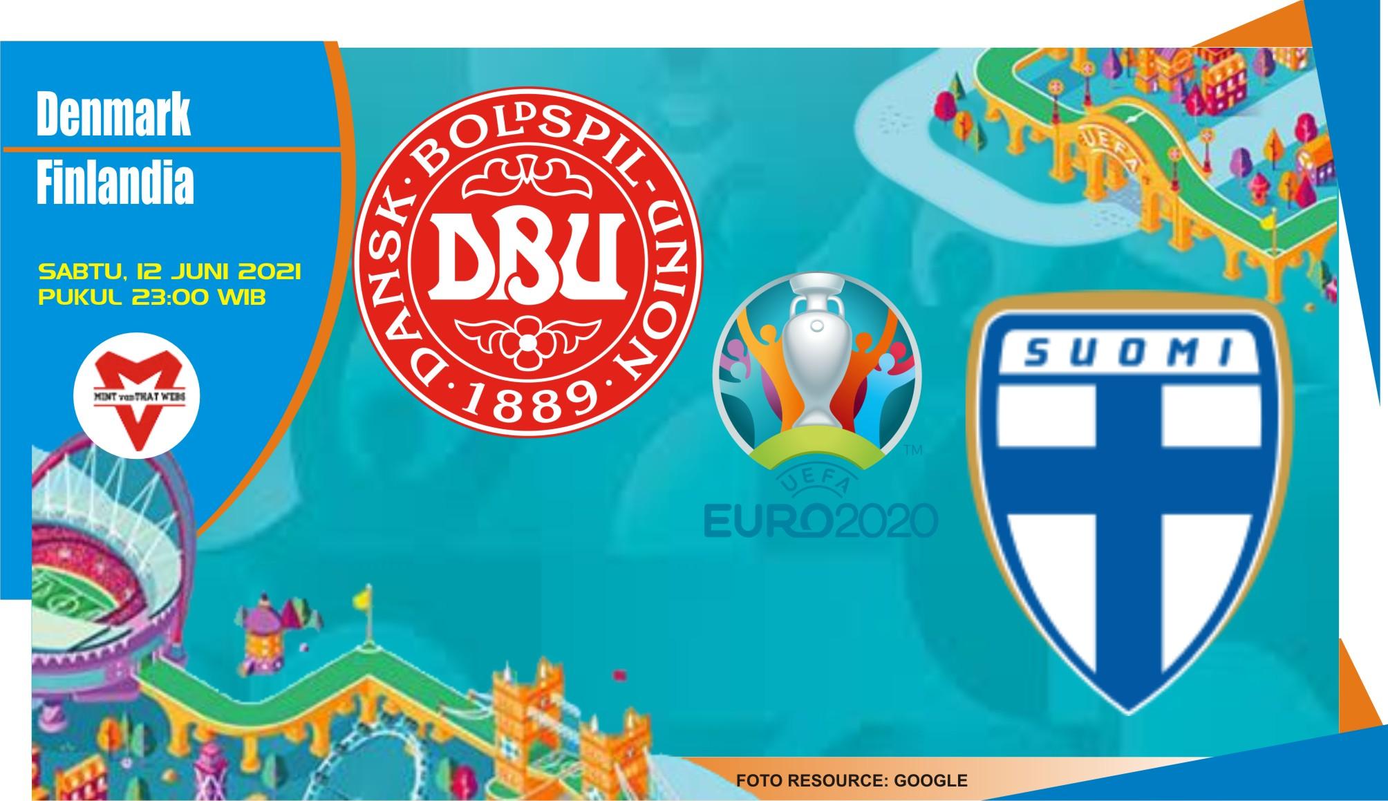 Prediksi Denmark vs Finlandia , Laga Piala Eropa 13 Juni 2021