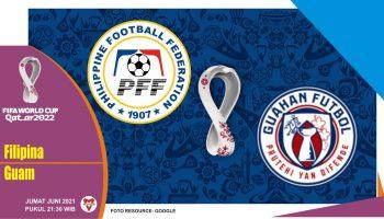 Prediksi Filipina vs Guam, Laga Kualifikasi Piala Dunia 11 Juni 2021