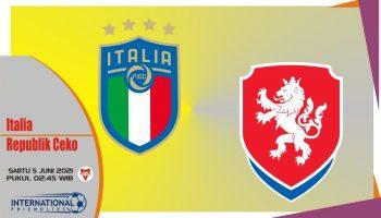 Prediksi Italia vs Republik Ceko, Laga Persahabatan 5 Juni 2021