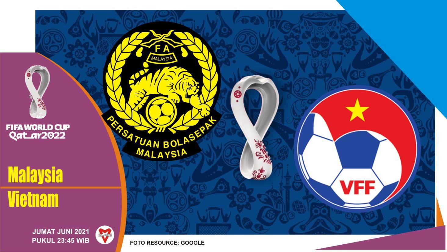 Prediksi Malaysia vs Vietnam, Laga Kualifikasi Piala Dunia 11 Juni 2021