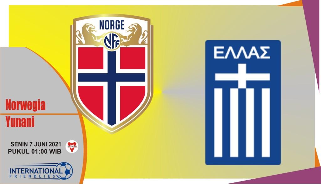 Prediksi Norwegia vs Yunani, Laga Persahabatan 7 Juni 2021