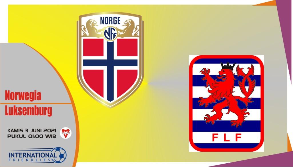 Norwegia vs Luksemburg, Prediksi Laga Persahabatan 3 Juni 2021
