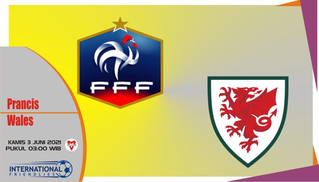 Prancis vs Wales, Prediksi Laga Persahabatan 3 Juni 2021