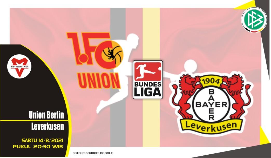 Prediksi Union Berlin vs Leverkusen- Liga Jerman 14 Agustus 2021