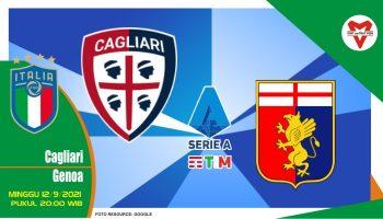 Prediksi Cagliari vs Genoa - Serie A Italia 12 September 2021