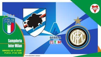 Prediksi Sampdoria vs Inter Milan - Serie A Italia 12 September 2021
