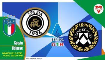 Prediksi Spezia vs Udinese - Serie A Italia 12 September 2021
