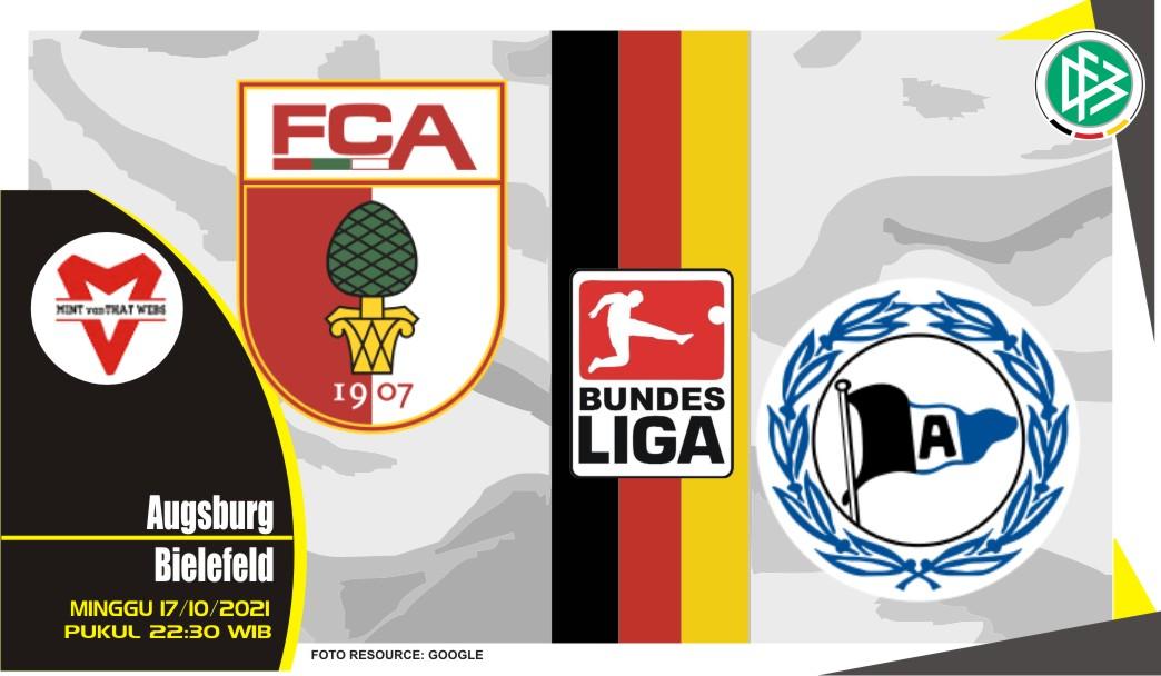 Prediksi Augsburg vs Bielefeld - Bundesliga 17 Oktober 2021