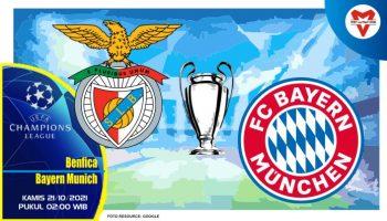 Prediksi Benfica vs Bayern Munich