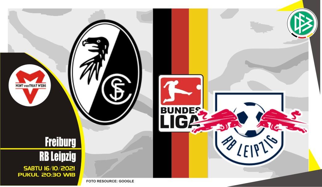 Prediksi Freiburg vs Leipzig - Bundesliga 16 Oktober 2021