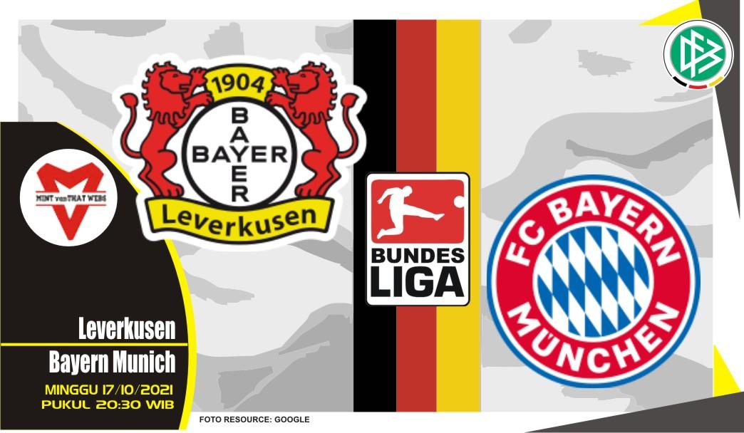 Prediksi Leverkusen vs Bayern Munich - Bundesliga 17 Oktober 2021