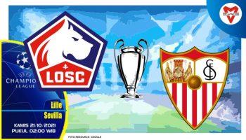 Prediksi Lille vs Sevilla, Liga Champions 21 Oktober 2021