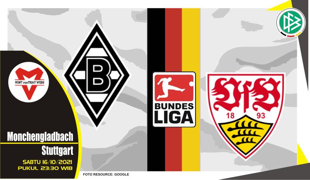 Prediksi Monchengladbach vs Stuttgart - Bundesliga 16 Oktober 2021