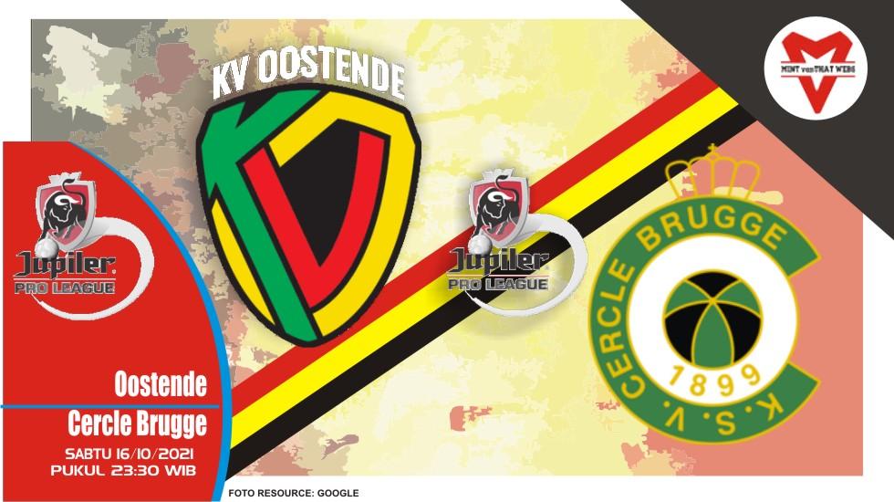 Prediksi Oostende vs Cercle - Liga Belgia 16 Oktober 2021