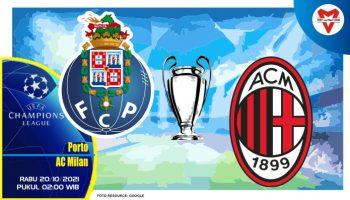 Prediksi Porto vs AC Milan