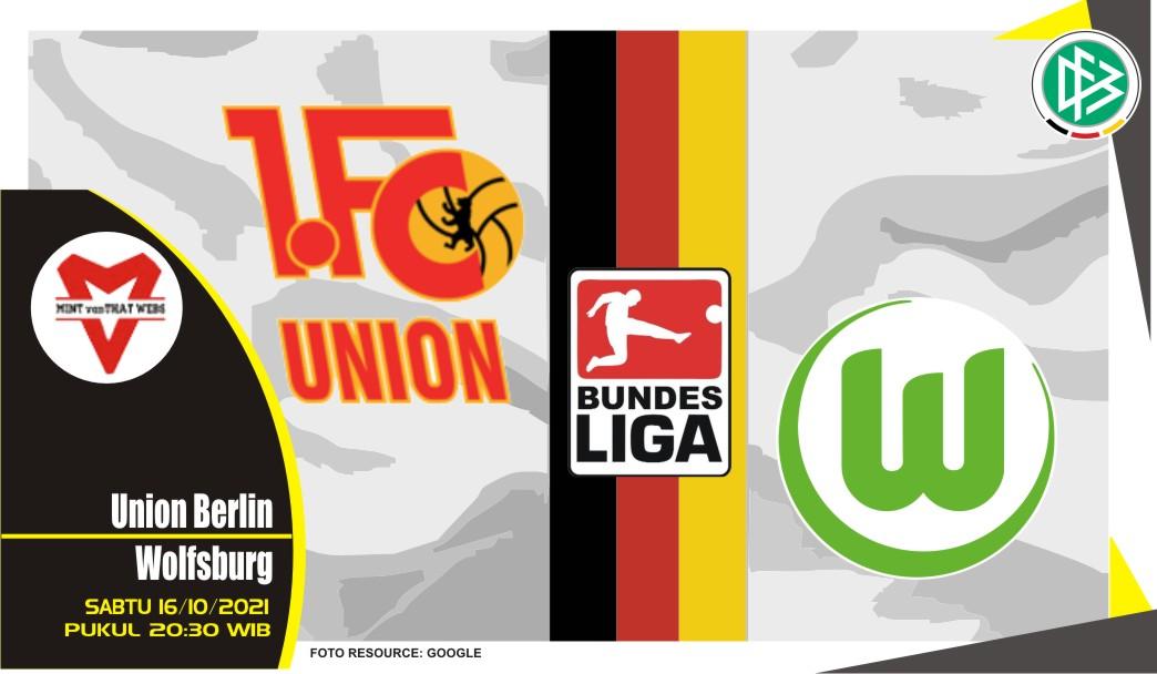 Prediksi Union Berlin vs Wolfsburg - Bundesliga 16 Oktober 2021